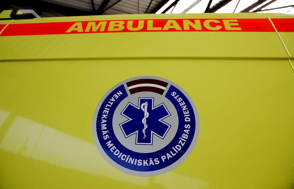 Jaunais neatliekamās medicīniskās palīdzības operatīvā transportlīdzekļa prototips Rīgas reģionā.