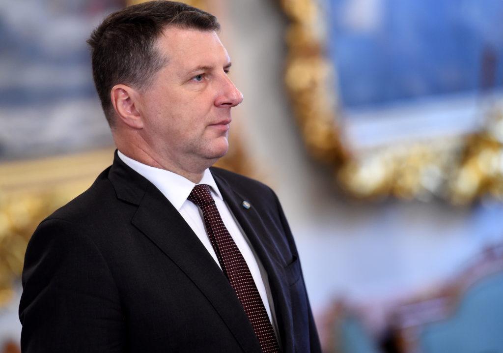 Valsts prezidents Raimonds Vējonis pirms akreditācijas vēstules pasniegšanas Latvijas vēstniecei Izraēlā.