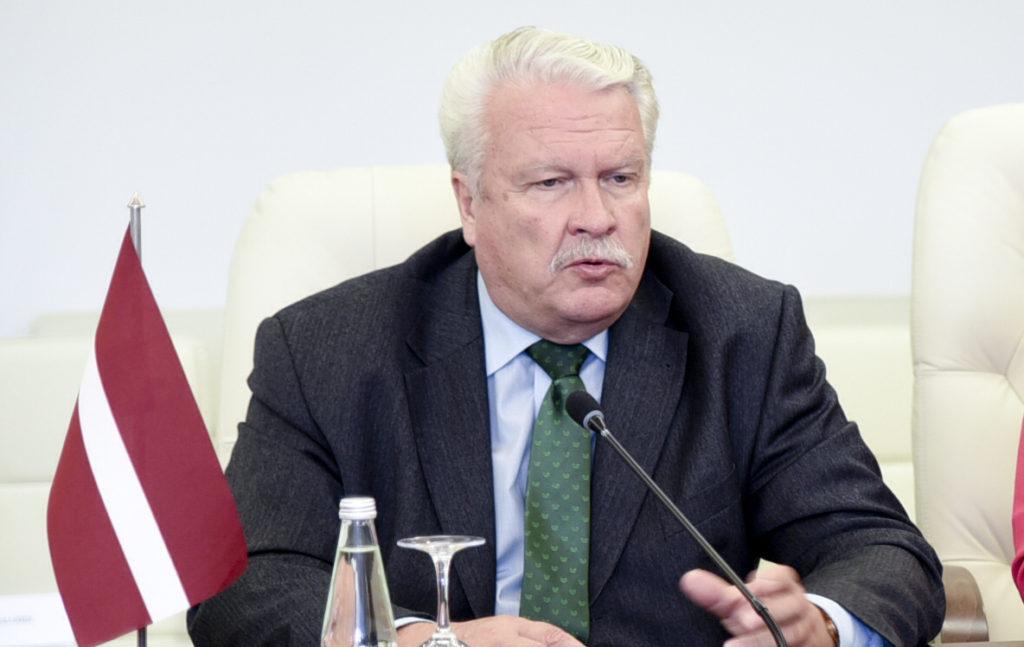 2016-07-28, Žemės ūkio ministrės Virginijos Baltraitienės ir Latvijos žemės ūkio ministro Janio Duklavs spaudos konferencija