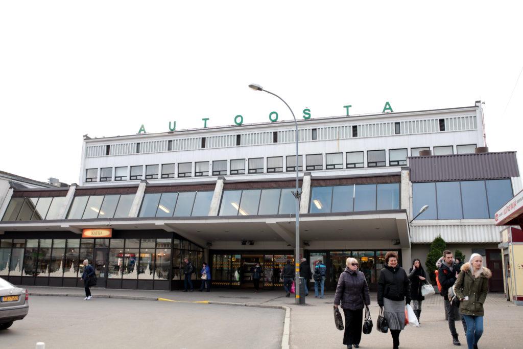 Rīgas starptautiskā autoosta.