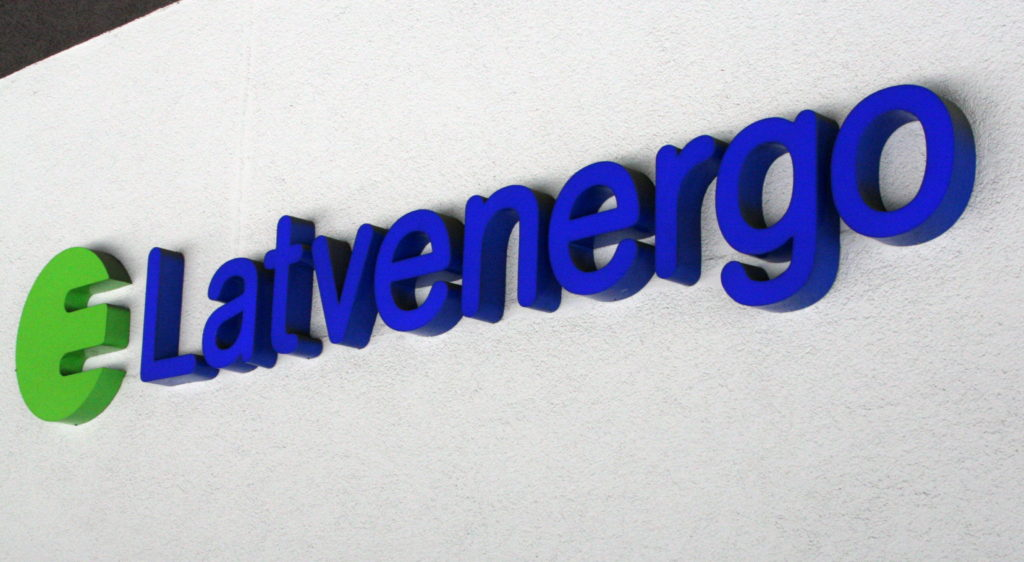 """AS """"Latvenergo"""" logo."""
