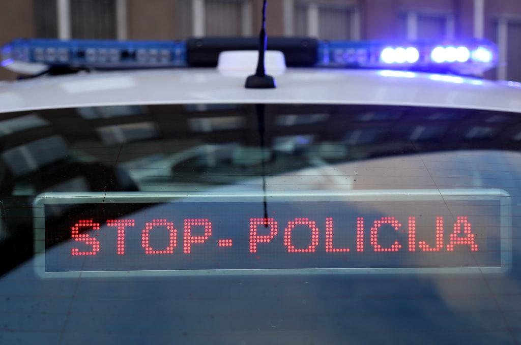"""Valsts policijas jauno trafarēto """"Opel Insignia"""" automašīnu aprīkojums."""